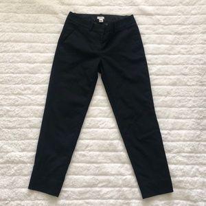 J.Crew Black Skimmer Pant